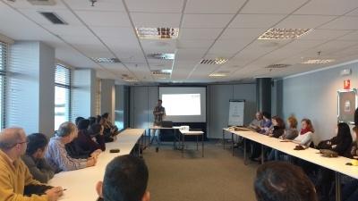 Another internal status meeting in ESS Bilbao