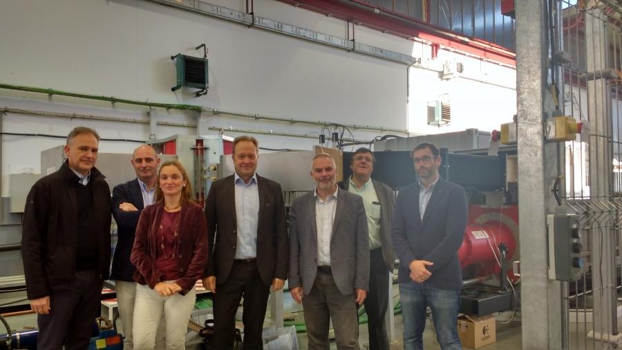 ESS Governance Team visits ESS Bilbao