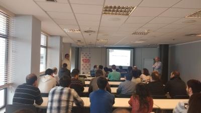 New internal status meeting in ESS Bilbao