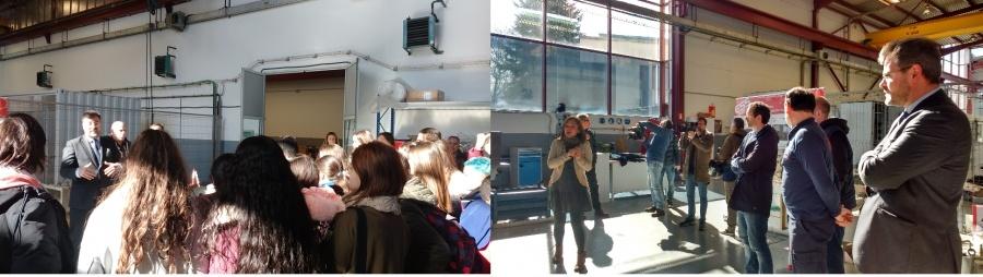 Student Group visits ESS Bilbao